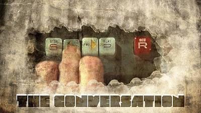 Rewind Digital Art - The Conversation by Andrea Barbieri
