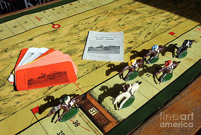 The Conyngham Cup Race Board Game Art Print by Ros Drinkwater