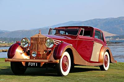 Photograph - The Copper Kettle Rolls-royce by Steve Natale