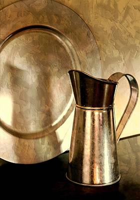Photograph - The Copper Pitcher by Diana Angstadt