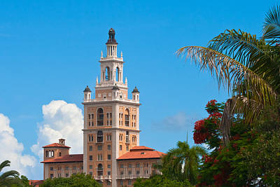 Photograph - The Coral Gables Biltmore by Ed Gleichman