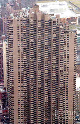 Photograph - The Corinthian Apartment Building In Nyc Aerial Photo by David Oppenheimer