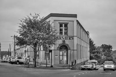 Photograph - The Corner Flatiron Building Farmers Hardware by Reid Callaway