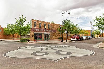 Photograph - The Corner In Winslow by Newman Artography