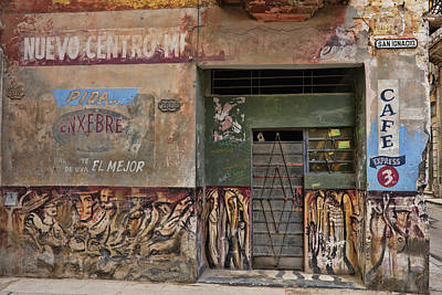 Photograph - The Corner Market by Mary Buck