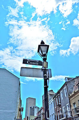 The Corner Of Conti Art Print