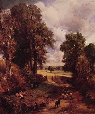 Painting - The Cornfield 1826 by Constable John
