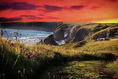 The Cornwall Coast Art Print by Martin Newman