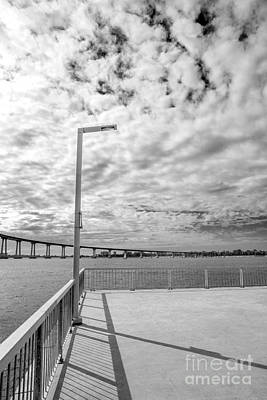 The Coronado Bridge San Diego California Art Print by Julia Hiebaum