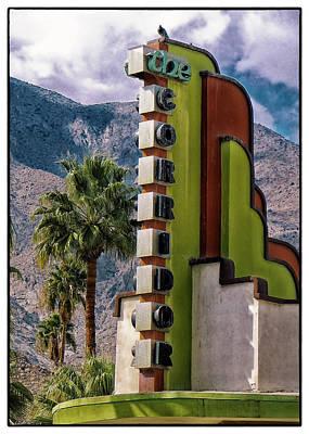 Photograph - The Corridor Theater by Doug Matthews