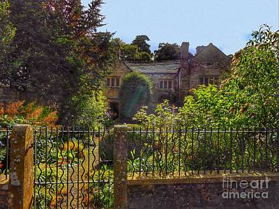 Photograph - The Cottage At Gibbons Bridge by Joan-Violet Stretch