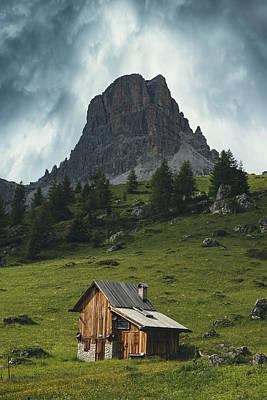 Tyrol Wall Art - Photograph - The Cottage by Joana Kruse