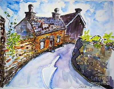 The Cottage Kinsale Art Print by Lidija Ivanek - SiLa