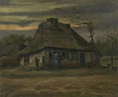 Painting - The Cottage Nuenen, May 1885 Vincent Van Gogh 1853  1890  by Artistic Panda
