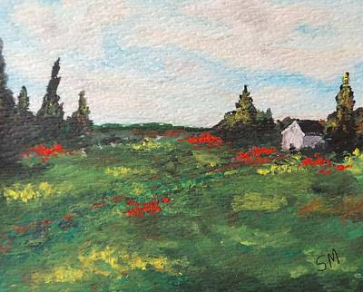 Openness Painting - The Cottage by Sonia Stiplosek