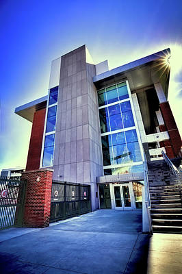Photograph - The Cougar Football Complex by David Patterson
