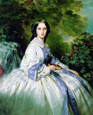 Mixed Media - The Countess by Georgiana Romanovna