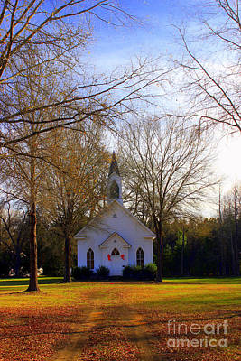 Photograph - The Country Church by Kathy White