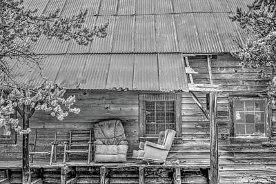 Photograph - The Country Porch by Richard J Cassato