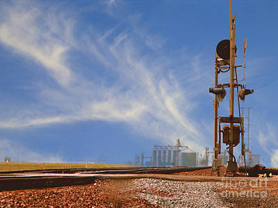 The Country Railroad Crossing  Original by Mark Hendrickson