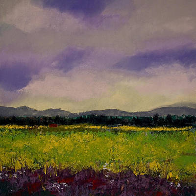 Painting - The Countryside by David Patterson