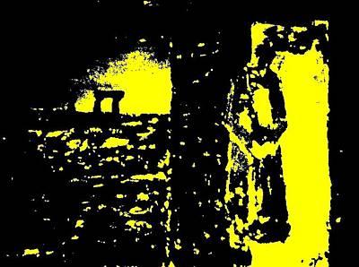The Couple A'la Klimt Art Print by Teo Spiller