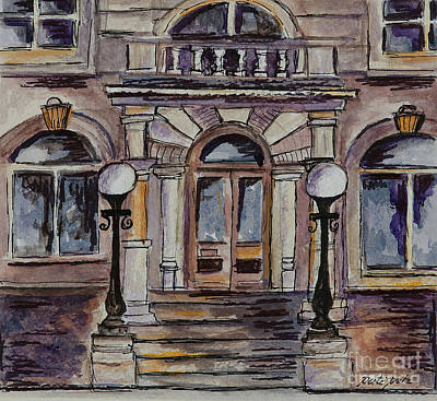 Painting - The Courthouse by Pati Pelz