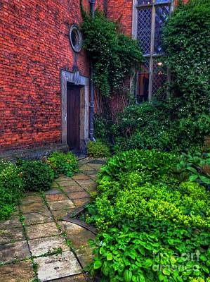 Photograph - The Courtyard 2 by Joan-Violet Stretch