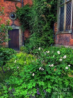 Photograph - The Courtyard by Joan-Violet Stretch