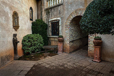 Photograph - The Courtyard by Rick Strobaugh