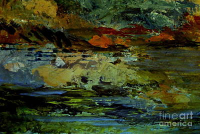 Painting - The Cove At Sunset by Nancy Kane Chapman