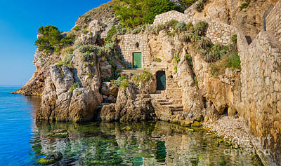Dubrovnik Photograph - The Cove by Inge Johnsson