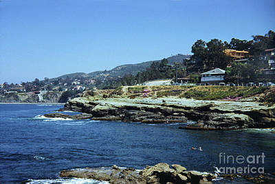 Photograph - The Cove La Jolla, California Circa 1950 by California Views Archives Mr Pat Hathaway Archives