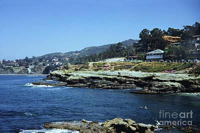 Photograph - The Cove La Jolla, California Circa 1950 by California Views Mr Pat Hathaway Archives