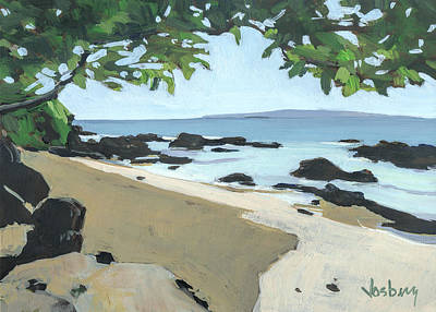 Hana Painting - The Cove by Stacy Vosberg