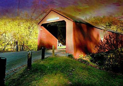 Photograph - The Covered Bridge by Diana Angstadt