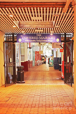 Photograph - The Covered Market Entrance Oxford by Terri Waters