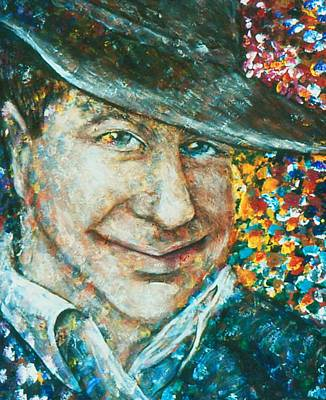 Acryllic Painting - The Cowboy by Valera Ainsworth