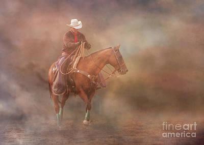 Digital Art - The Cowboy Way by Randy Steele