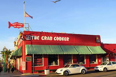 Photograph - The Crab Cooker In Balboa Park Newport Beach California by Ram Vasudev
