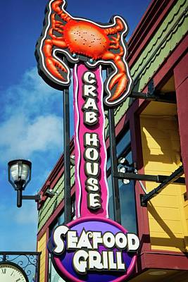 Photograph - The Crab House Seafood Grill by Lynn Bauer