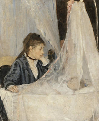 Painting - The Cradle by Berthe Morisot