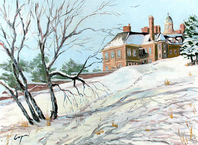 The Crane Estate In Ipswich Mass Original by Chris Coyne