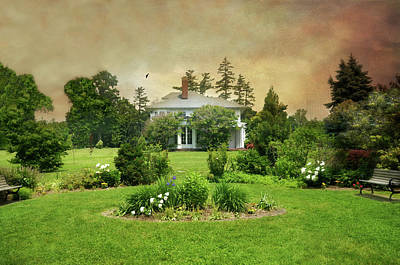 Photograph - The Crawford Park Mansion by Diana Angstadt