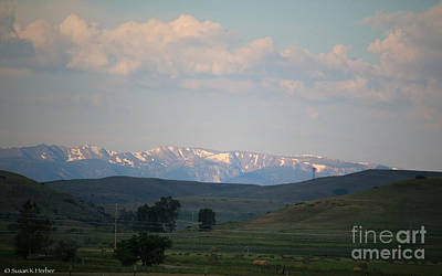 Photograph - The Crazy Mountain Range by Susan Herber