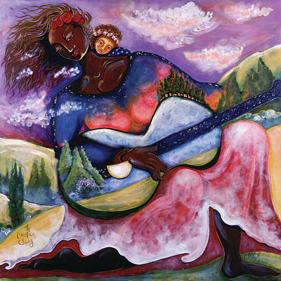 By Women Painting - The Creation Song by Shiloh Sophia McCloud