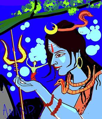 Digital Art - The Creator by Anand Swaroop Manchiraju