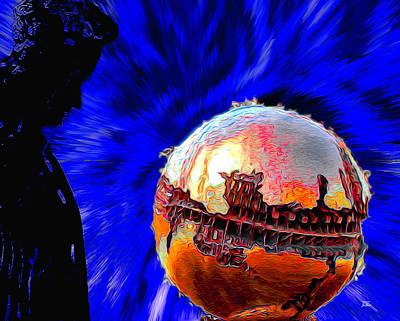 Digital Art - Humanity Calmly Watches The Extinction by Joe Paradis