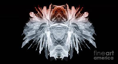 Digital Art - The Creature by Jan Brons