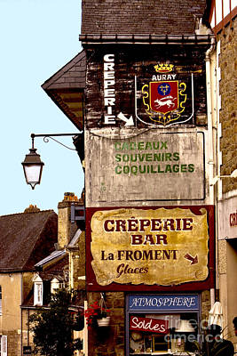 Creperie Photograph - The Creperie by Mark Hendrickson